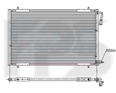 Радіатор кондиціонера для PEUGEOT (NRF) FP 54 K142