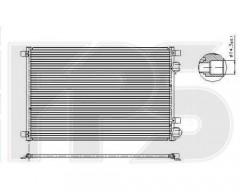 Радиатор кондиционера для RENAULT (NRF) FP 56 K164