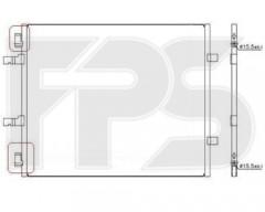 Радиатор кондиционера для NISSAN / RENAULT / OPEL (NRF) FP 56 K167