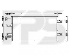 Радиатор кондиционера для RENAULT (Nissens) FP 56 K402