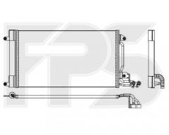 Радиатор кондиционера для VW (NRF) FP 62 K53-X