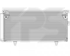 Радіатор кондиціонера для SUBARU (FPS) FP 67 K491-X