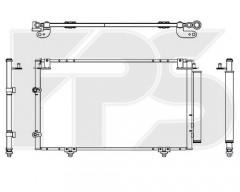 Радіатор кондиціонера для TOYOTA (FPS) FP 70 K445