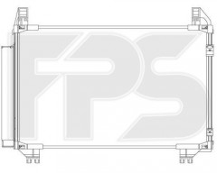 Радиатор кондиционера для TOYOTA (Koyorad) FP 70 K485-X