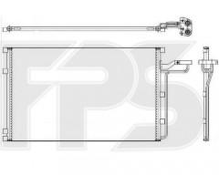 Радиатор кондиционера для VOLVO (BEHR) FP 72 K02