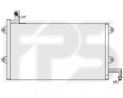 Радиатор кондиционера для VW (FPS) FP 74 K174