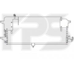Радиатор кондиционера для VW (NRF) FP 74 K176-X