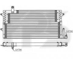 Радиатор кондиционера для VW (NRF) FP 74 K193-X