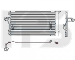 Радиатор кондиционера для AUDI / PORSCHE / VW (Koyorad) FP 74 K464-X