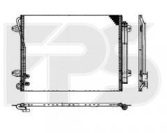 Радиатор кондиционера для VW (BEHR) FP 74 K466-X