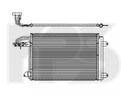 Радиатор кондиционера для SEAT / SKODA / VW (Koyorad) FP 74 K472-X