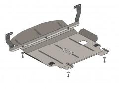Фото 1 - Защита двигателя и КПП, радиатора для Ford Fiesta VI '02-09, V-1,4D (Кольчуга)
