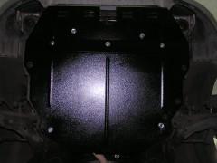 Фото 2 - Защита картера двигателя, КПП и радиатора для Kia Cerato I '04-08, V-все, МКПП/АКПП (Кольчуга)