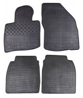 Коврики в салон для Honda Civic 5D '06-12 резиновые, черные (Rigum)