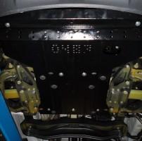 Фото 2 - Защита двигателя и КПП, радиатора для Mercedes-Benz Sprinter '13-, V-все, кроме 4х4 (Кольчуга)