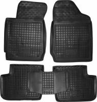 Коврики в салон для BYD F3 '05- резиновые, черные (AVTO-Gumm) МКПП