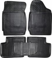 Коврики в салон для BYD F3 '05- резиновые, черные (AVTO-Gumm) АКПП
