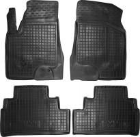 Коврики в салон для BYD S6 '10- резиновые, черные (AVTO-Gumm)