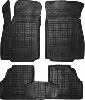 Коврики в салон для Chevrolet Tracker '13- резиновые, черные (AVTO-Gumm)