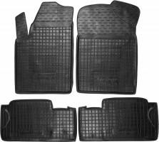 Коврики в салон для Citroen Berlingo '97-07 резиновые, черные (AVTO-Gumm)