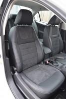 Авточехлы Leather Style для салона Volkswagen Jetta VI '10- Trendline (MW Brothers)
