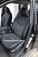 Авточехлы Leather Style для салона Skoda Octavia A7 '13-17, лифтбек без заднего подлокотника (MW Brothers)