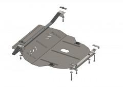 Кольчуга Защита картера двигателя и КПП для Seat Toledo '99-04, V-все (Кольчуга)