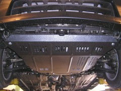 Фото 2 - Защита двигателя и КПП, радиатора для Suzuki Liana '05-07, V-1,6, только полн. привод 4x4 (Кольчуга)