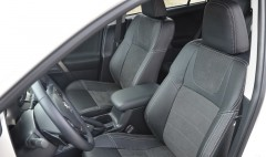 Авточехлы Leather Style для салона Toyota RAV4 '13-18 2. 0 бензин (MW Brothers)