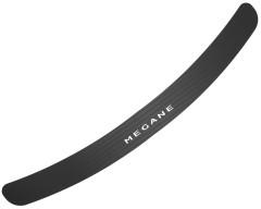 Накладка на бампер карбон для Renault Megane '08-16 Универсал (Premium+k)