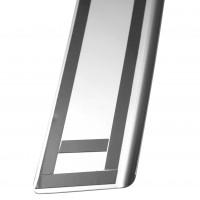 Фото 4 - Накладка с загибом на бампер карбон для Ssangyong Korando '11- (Premium+k)