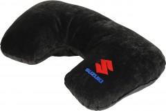 Подушка-подголовник Suzuki черная