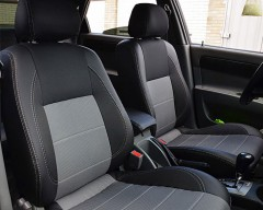 MW Brothers Авточехлы Premium для салона Chevrolet Lacetti '03-12 (CDX) серая строчка (MW Brothers)