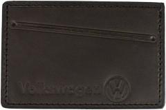 """Обложка для прав/тех.паспорта темно-коричневая """"Volkswagen"""""""