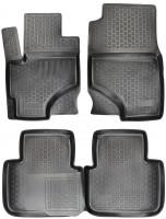 Коврики в салон для Mitsubishi Colt '03-10 полиуретановые, черные (L.Locker)