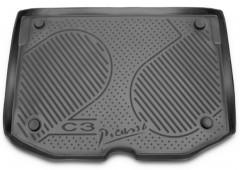 Коврик в багажник для Citroen C3 '10- Picasso, полиуретановый (Novline / Element) серый