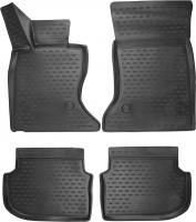 Novline Коврики 3D в салондля BMW 5 F10/11 '10-13 полиуретановые, черные (Novline)