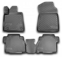 Коврики в салон для Toyota Tundra '07-13 полиуретановые (Novline / Element)