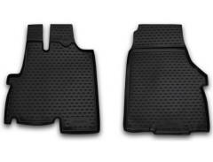 Коврики в салон для Fiat Ducato '12- полиуретановые, черные (Novline / Element)
