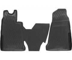Коврики в салон для Ford Transit '06-13 полиуретановые (Novline / Element)