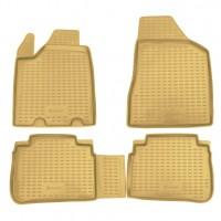 Коврики в салон для Nissan Murano '03-08 полиуретановые, бежевые (Novline / Element)