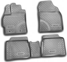 Коврики в салон для Toyota Prius '09-15 полиуретановые (Novline / Element)