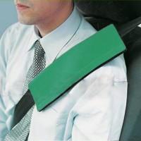Подушка на ремень безопасности зеленая