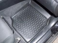 Фото 3 - Коврики в салон для Mitsubishi Lancer 9 '04-09 полиуретановые, черные (L.Locker)