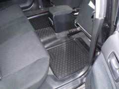 Фото 11 - Коврики в салон для Mitsubishi Lancer 9 '04-09 полиуретановые, черные (L.Locker)