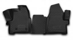 Novline Коврики в салон 3D для Ford Custom '13- полиуретановые (Novline) 1+2