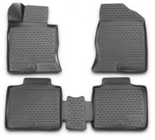 Novline Коврики в салон 3D для Hyundai Grandeur '12- полиуретановые (Novline)