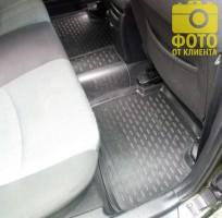 Фото 6 - Коврики в салон для Kia Ceed '06-12 полиуретановые (Novline / Element)
