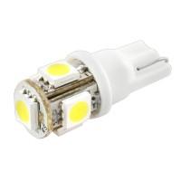 Автомобильная лампочка светодиодная Galaxy W5W T10-5SMD