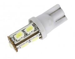 Автомобильная лампочка светодиодная Galaxy W5W T10-9SMD 1 шт.